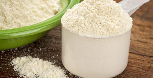 Gewicht verliezen met een eiwitsupplementendieet (proteïnen / melkwei)