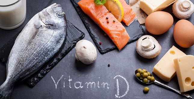 Vitamine-D-eten