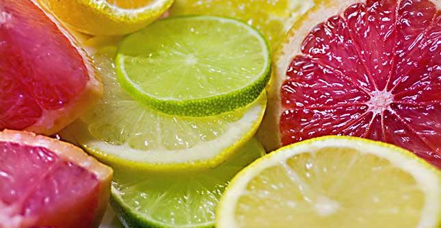 Bioflavonoïden in citrusfruit versterkt de bloedvezels