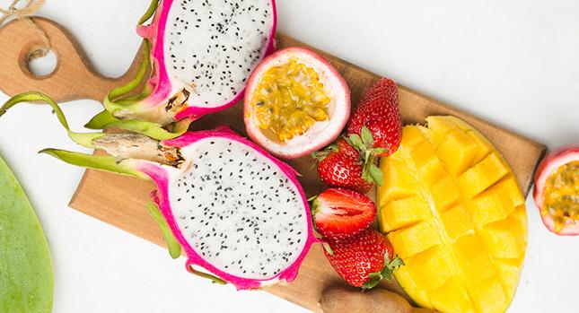 Exotisch fruit met vitamine C