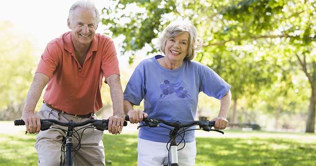Sportende ouderen