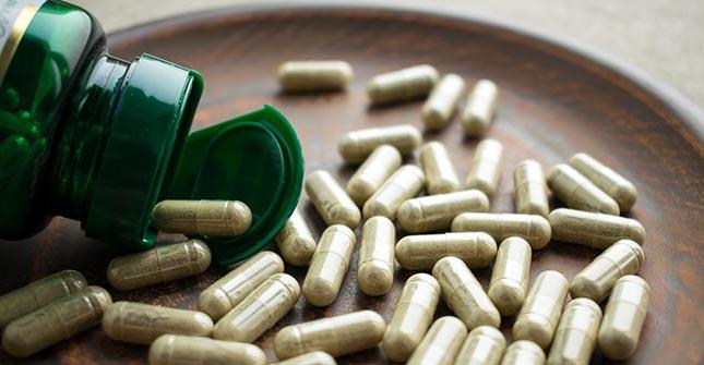 Ginkgo biloba capsules