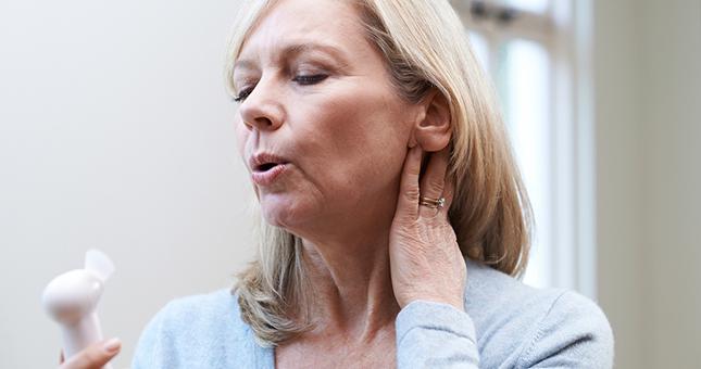Acupunctuur kan symptomen van de menopauze verminderen